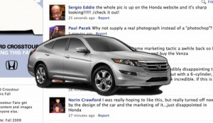 Facebook може да е забавен, но не и за Honda