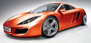 Новият McLaren, но не Mercedes