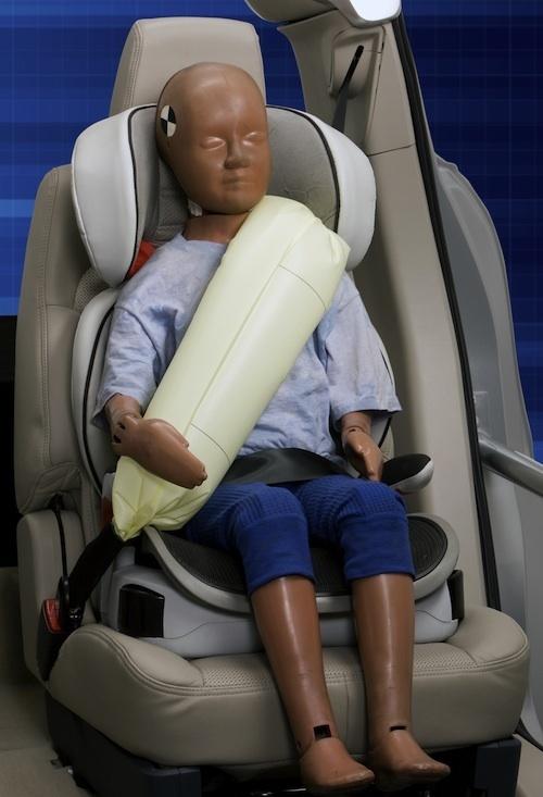 Сигурност: Надуваеми колани от Форд