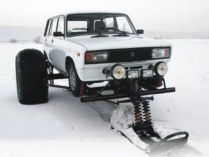 Лада Сибирячка Снегоходская: Зимата в Русия иска подготовка