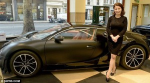 39-годишна британка е най-успешният търговец на Bugatti в света