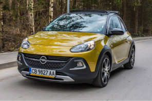 Opel Adam Rocks: Пролетта Rocks!