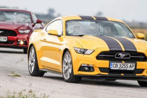 Ford Mustang 5.0 GT vs 2.3 Ecoboost: Когато 8 почти е равно на 4