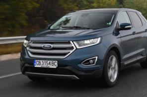 Ford Edge: Всъдеходът, създаден за теглене