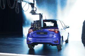 Рекламата на Toyota Yaris е снимана в България