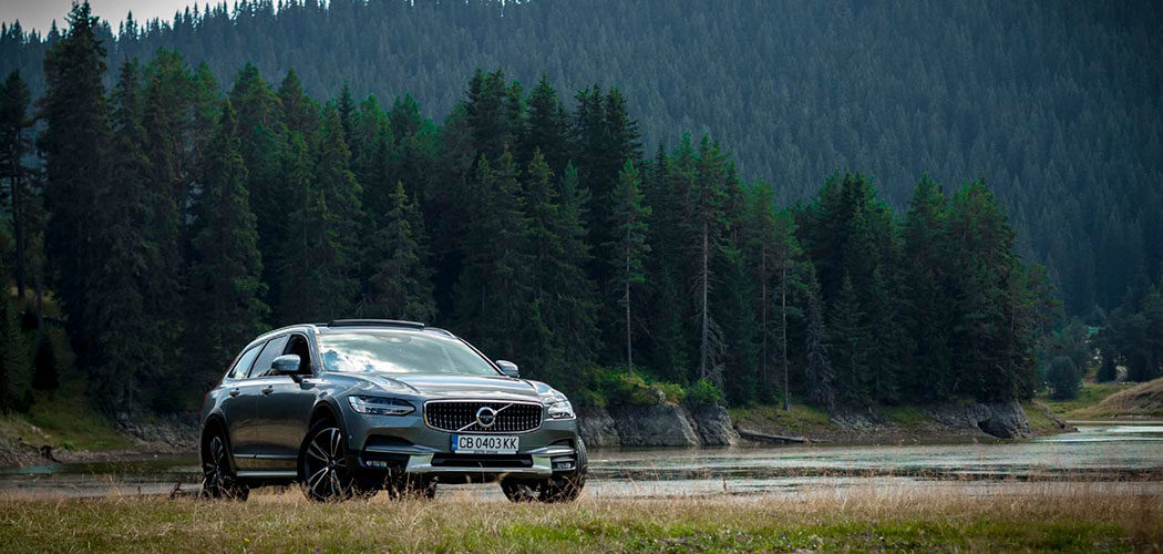 volvo v90 cross country test drive