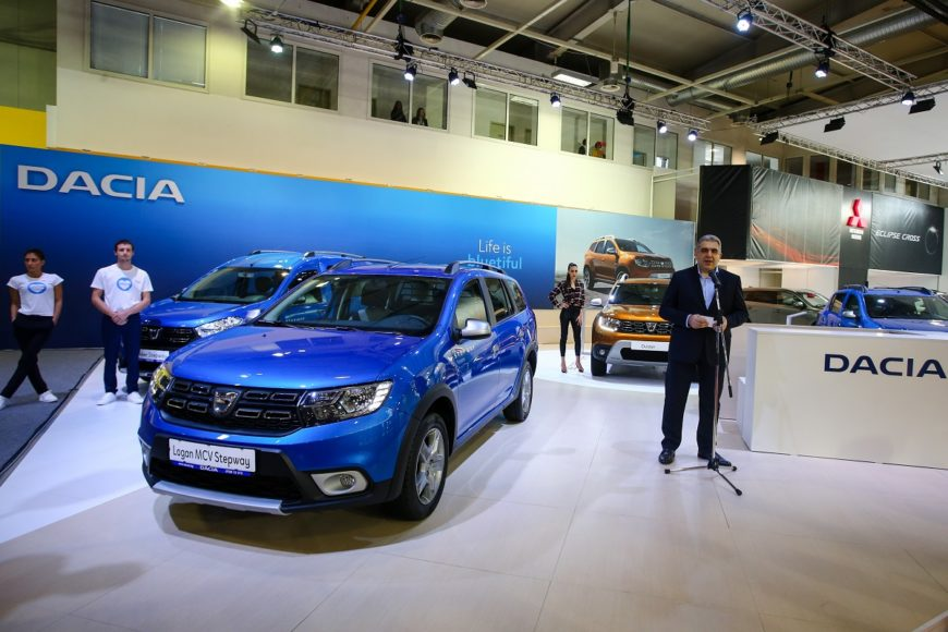 Dacia stand