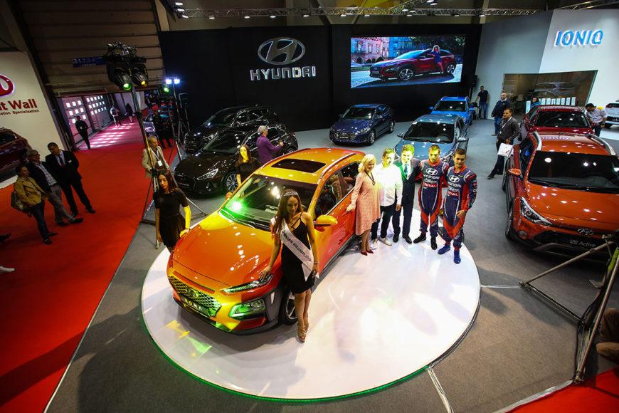 Hyundai-stand