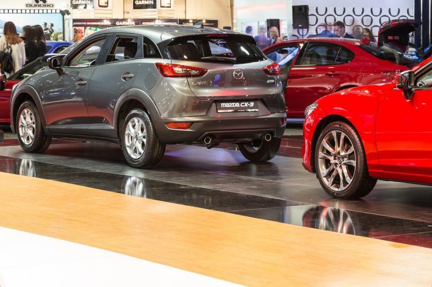 Mazda stand CX-3