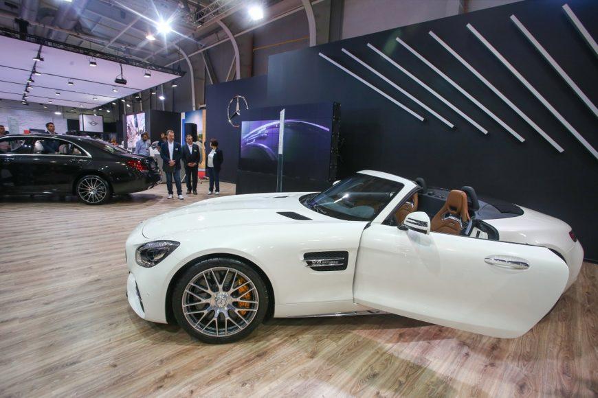 Mercedes-AMG GT C Roadster 2