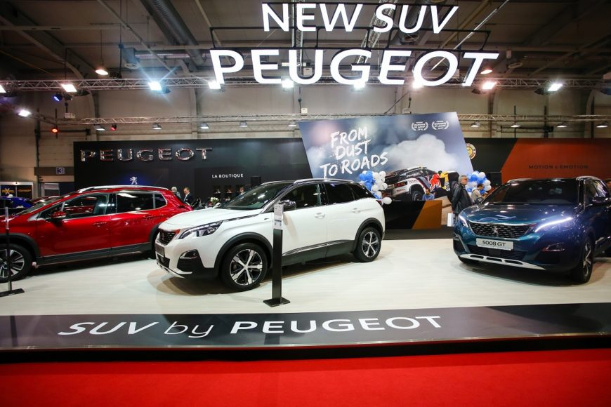 Peugeot stand