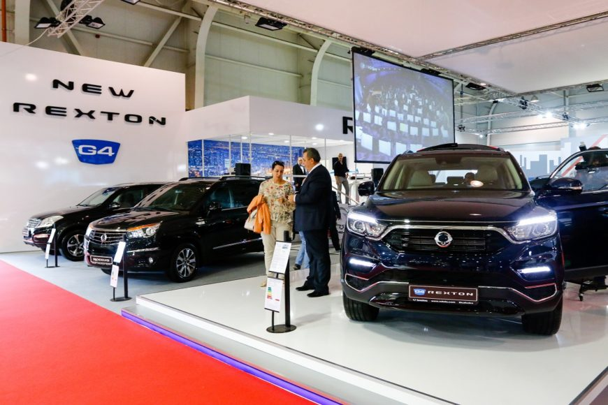 SsangYong stand 2
