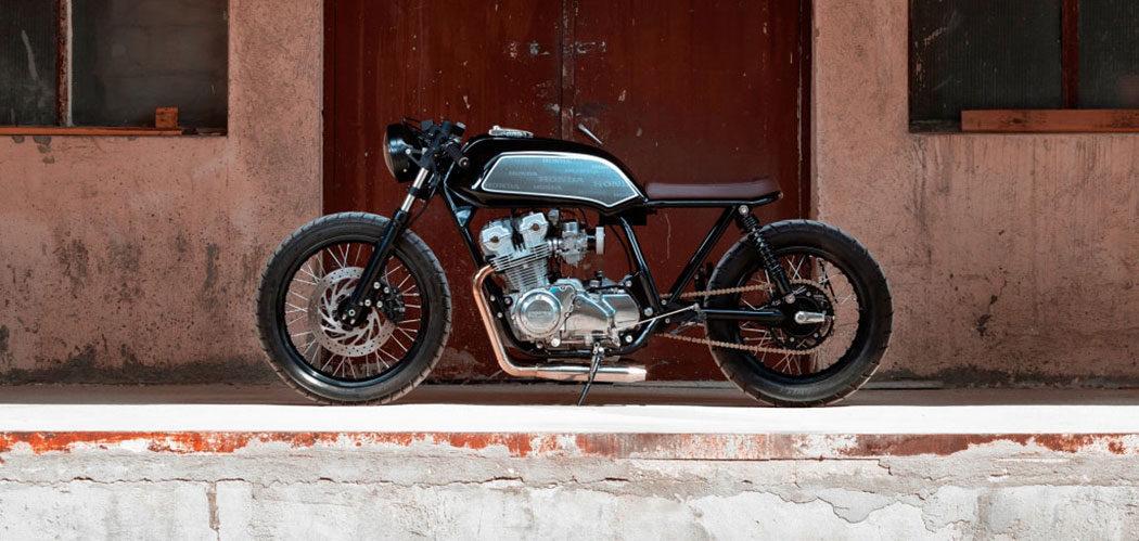 thracian custom bikes honda cb750 primo